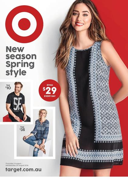 Target Catalogue Clothing 11 - 24 Aug 2016