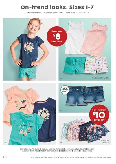 Target Catalogue Kids Clothing 11 - 24 Aug 2016