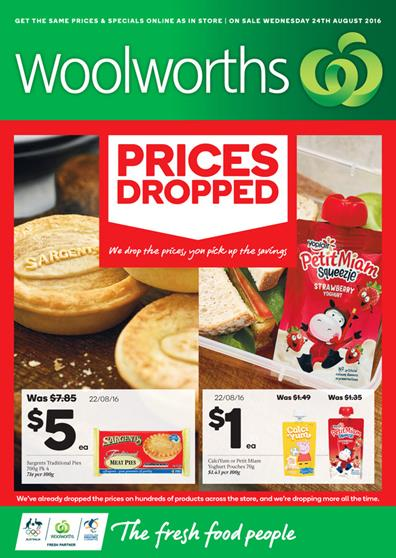 Woolworths Catalogue 24 Aug - 30 Aug 2016