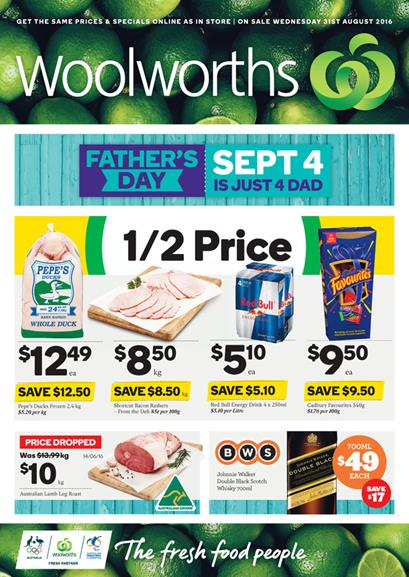 Woolworths Catalogue 31 Aug - 6 Sep 2016
