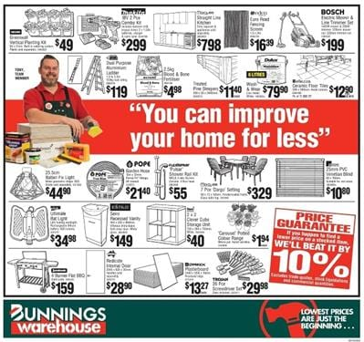 Bunnings Catalogue September 2016 Warehouse Deals