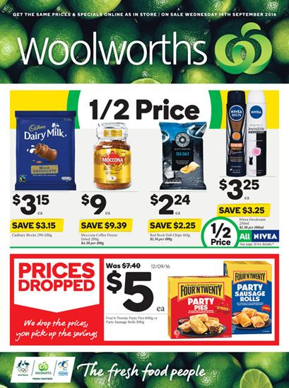 Woolworths Catalogue 14 - 20 September 2016