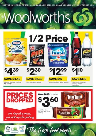 Woolworths Catalogue 7 Sep - 13 Sep 2016