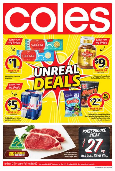 Coles Catalogue 19 - 25 October 2016
