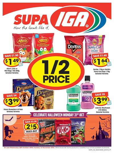 IGA Catalogue 26 Oct - 1 Nov 2016