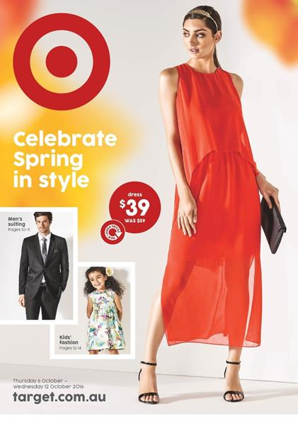 Target Catalogue Ladies Apparels Spring 2016
