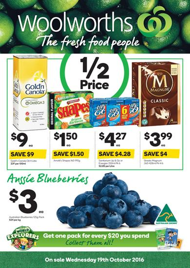 Woolworths Catalogue 19 - 25 Oct 2016