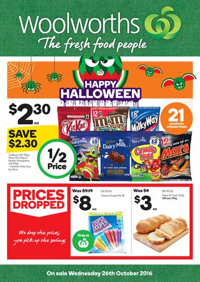 Woolworths Catalogue 26 Oct - 1 Nov 2016