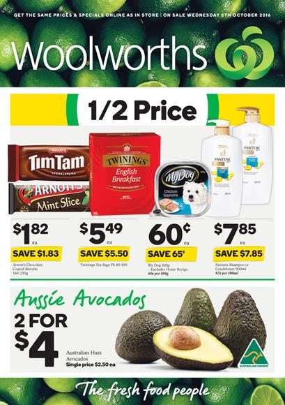 Woolworths Catalogue 5 Oct - 11 Oct 2016
