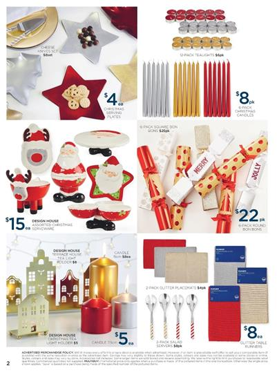 big w christmas decoration catalogue nov 10 16 nov 2016