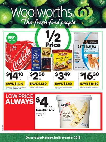 Woolworths Dog Food Prices