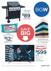 Big w catalogue adelaide