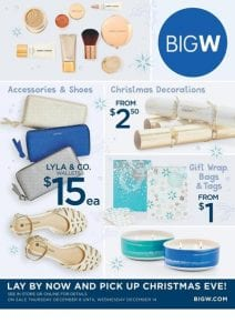 Big W Catalogue Christmas 8 - 14 December 2016