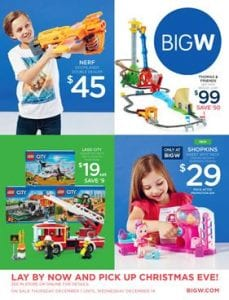 Big W Christmas Catalogue Toys 1 - 14 December 2016