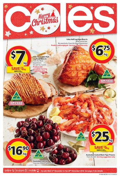 Coles Catalogue Latest Christmas Deals 2016