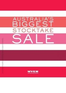 Myer Boxing Day Sale Catalogue 2016