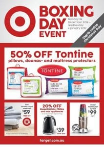 Target Boxing Day Sale Catalogue 2016