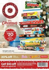 Target Catalogue Christmas 8 - 14 December 2016