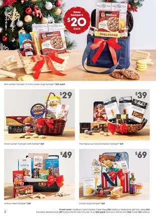 Target Catalogue Christmas Hampers 2016