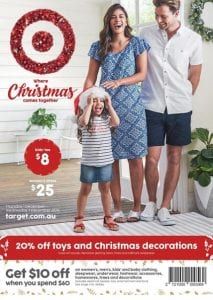 Target Christmas Catalogue 1 - 7 Dec 2016