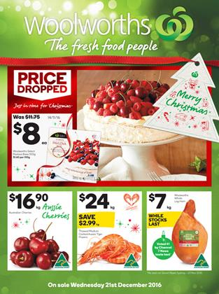 Woolworths Catalogue Last Christmas Deals 2016