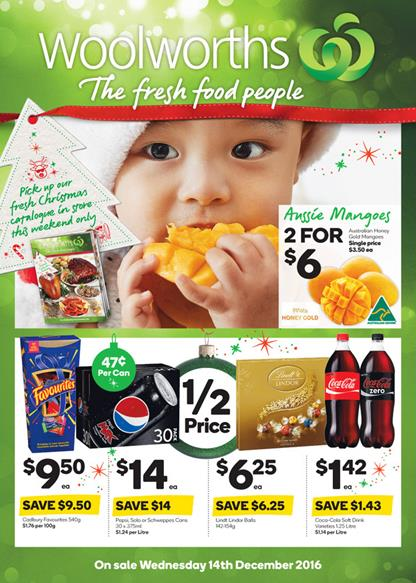 Woolworths Catalogue Latest Christmas Deals 2016