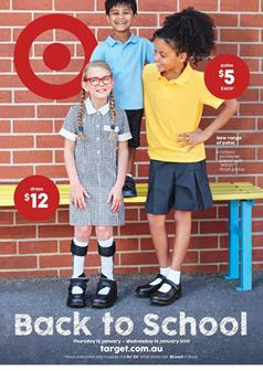 Target Catalogue Back To School 12 - 18 Jan 2017