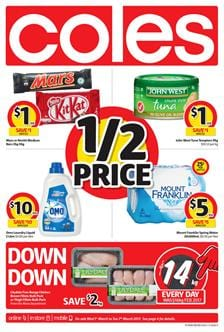 Coles Catalogue Grocery Deals 1 - 7 March 2017