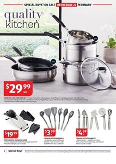 Kitchen Ware ALDI Catalogue Special Buys Week 8 2017