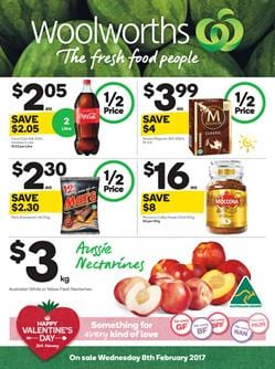 Woolworths Catalogue Valentine's Day 8 - 14 Feb 2017