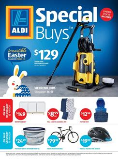 ALDI Catalogue Easter Sale 15 March 2017