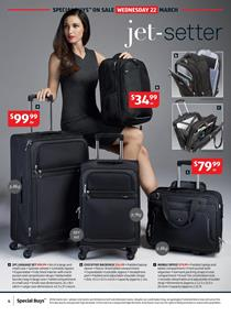 ALDI Catalogue Ladies Travel Products 22 March 2017