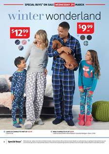 ALDI Catalogue Sleep Wear 29 March 2017