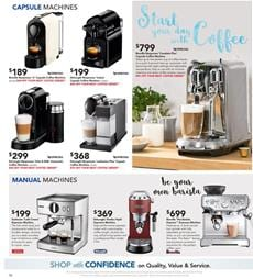 Coffee Machine Harvey Norman Catalogue March 2017