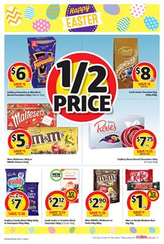 Coles Catalogue Easter Deals 29 Mar - 4 Apr 2017 4