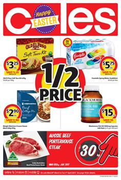 Coles Catalogue Easter Deals 29 Mar - 4 Apr 2017