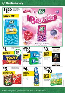 Snacks Woolworths Catalogue 1 - 7 March 2017