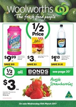 Woolworths Catalogue Deals 15 - 21 March 2017