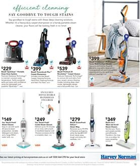 066a6a33a44 Bissell Multi-Surface Cleaner Harvey Norman Catalogue 7 - 23 April 2017