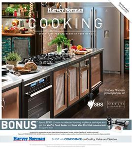 Harvey Norman Cooking April 2017