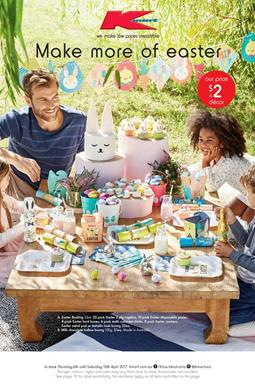 Kmart Catalogue Easter Deals 6 - 15 April 2017