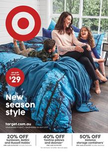 Target Catalogue Bedding Products 19 - 26 April 2017