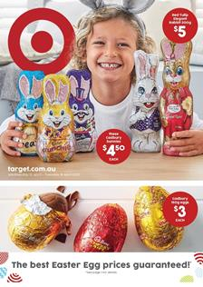 Target Catalogue Easter Deals 12 - 18 April 2017