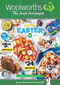 Woolworths Catalogue Easter Deals 12 - 18 April 2017