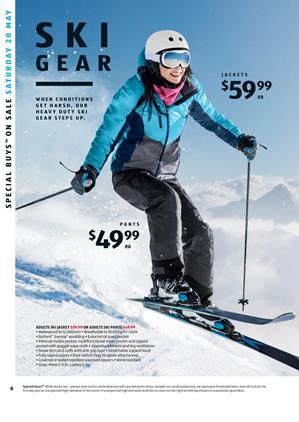 ALDI Catalogue Snow Gear Special Buys Week 20 2017