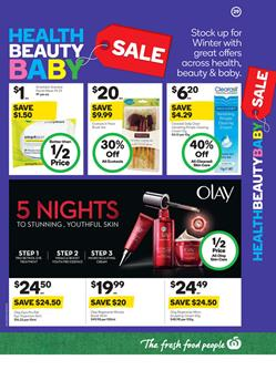 Beauty Products Woolworths Catalogue 10 - 16 May 2017