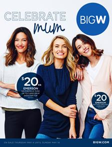 Big W Catalogue Mothers Day 4 - 14 May 2017