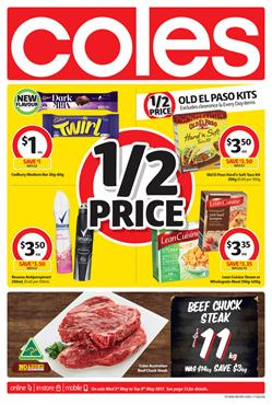 Coles Catalogue Grocery 3 - 9 May 2017
