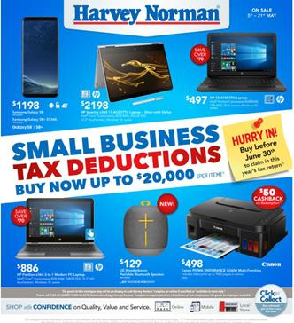 Harvey Norman Catalogue Electronics May 2017