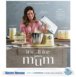 Harvey Norman Catalogue Mothers Day Gifts 2017